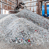Glass containers raw materials cullet