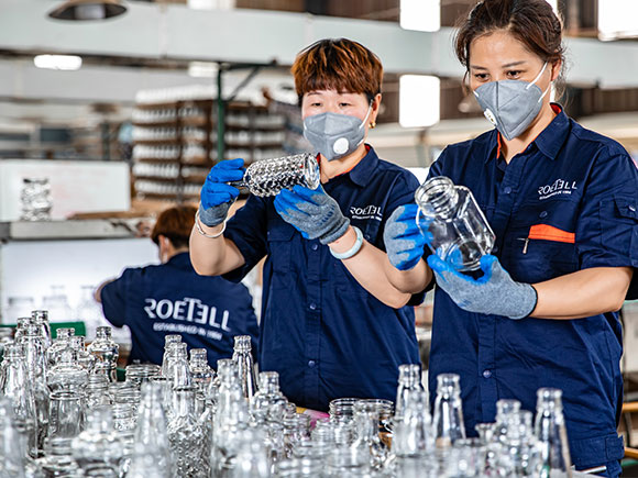 Glass containers quality inspection