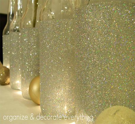 Glittered IZZE Bottles
