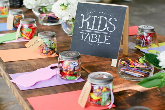 Kid's Table Accessories