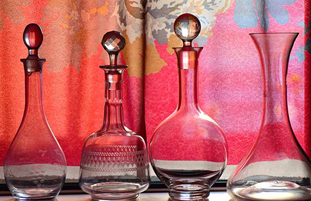 Glass Containers of Different Shapes