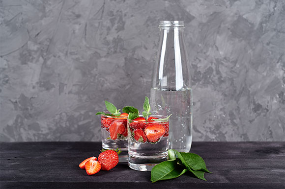 Supply Glass Bottles for Sparkling Water
